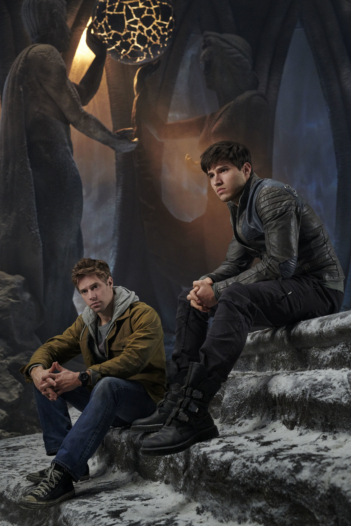 Krypton, Seg and Adam