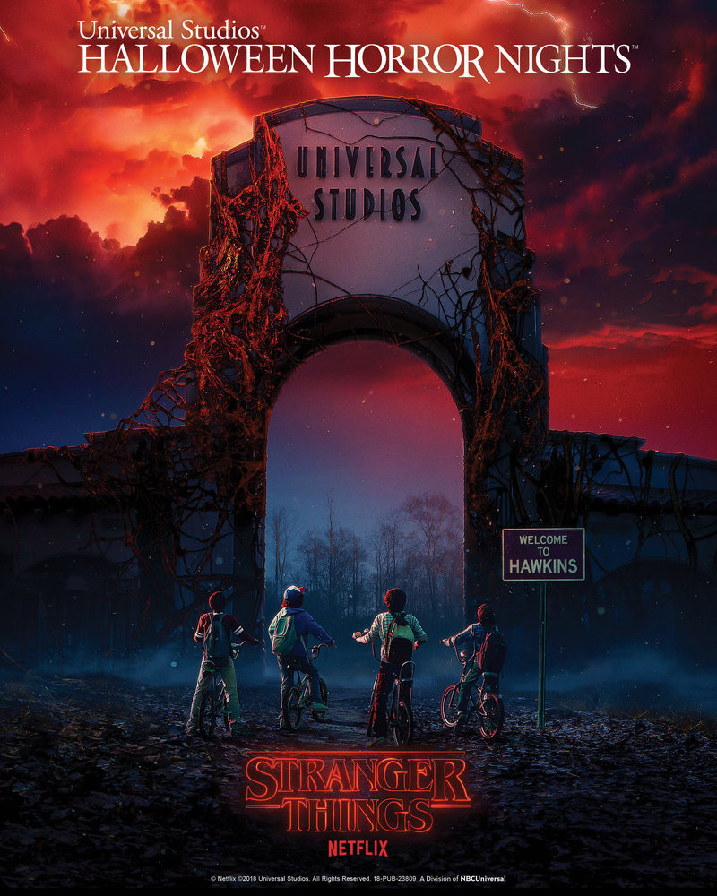 Stranger Things Universal Halloween Horror Nights