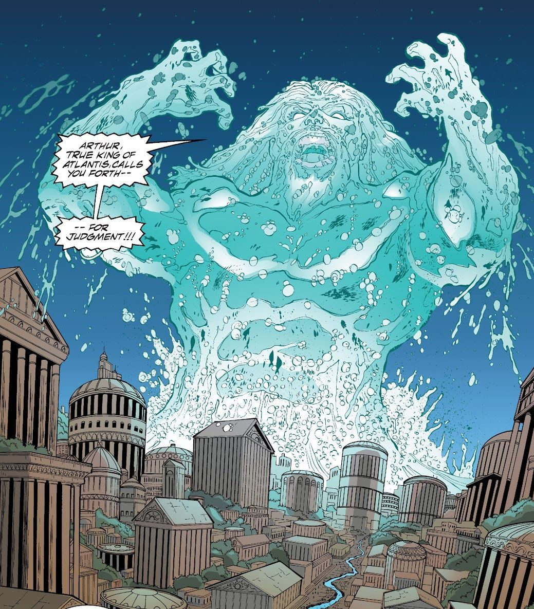 JLA #75, written by Joe Kelly with art by Doung Mahnke, Yvel Guichet, Darryl Banks and Deitrich Smith.