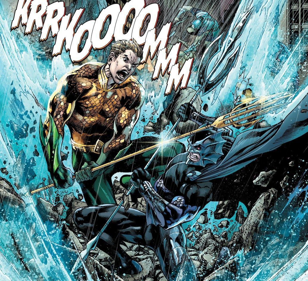 Justice League #17 (2012) written by Geoff Johns, illustrated by Ivan Reis