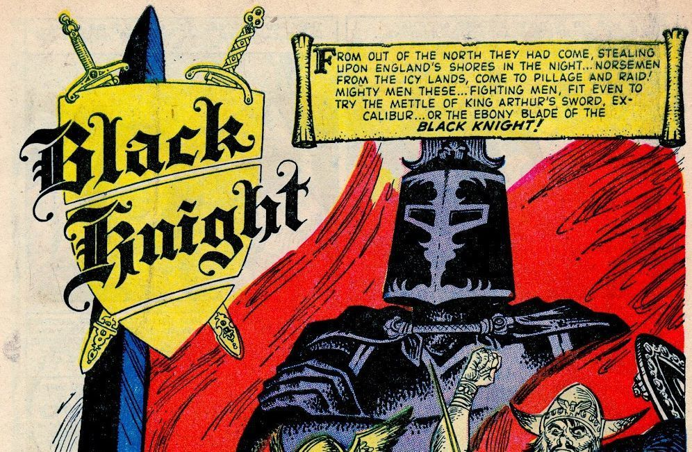 Image result for black knight #1 1955