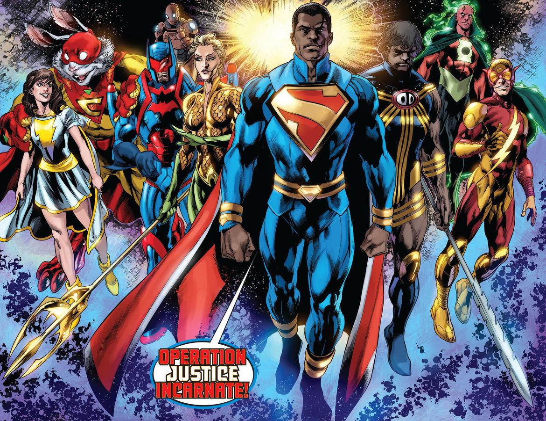 Operation Justice Incarnate DC Comics