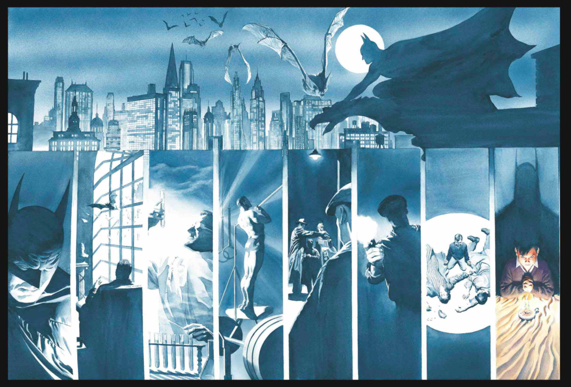 Exclusive reveal: Alex Ross decks the halls with the Dark