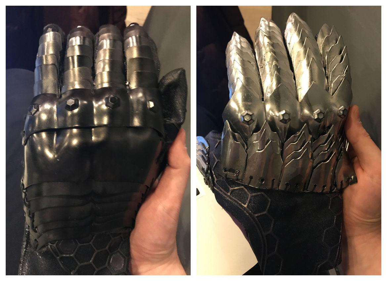 Orm Ocean Master gloves Aquaman