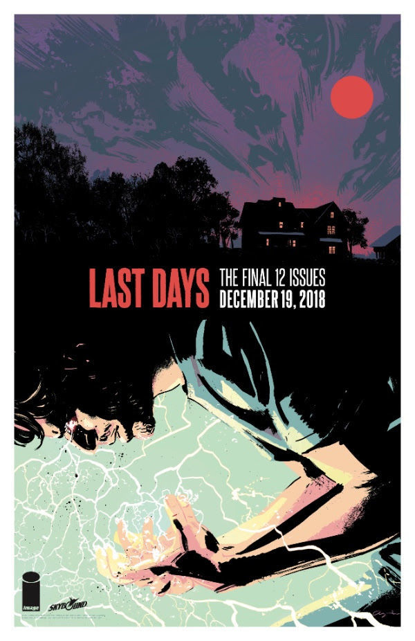 Outcast final issues promo art