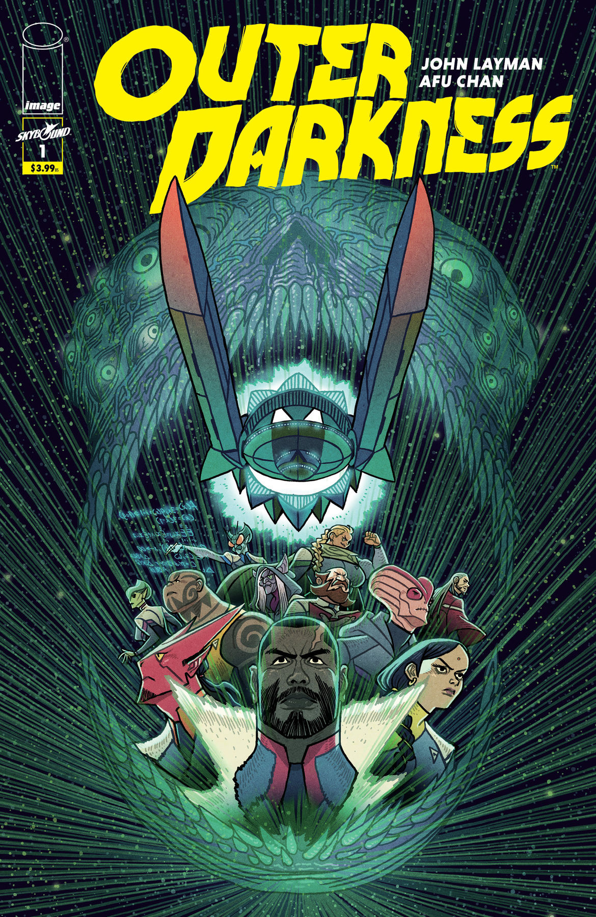 Outer Darkness 1 Cover