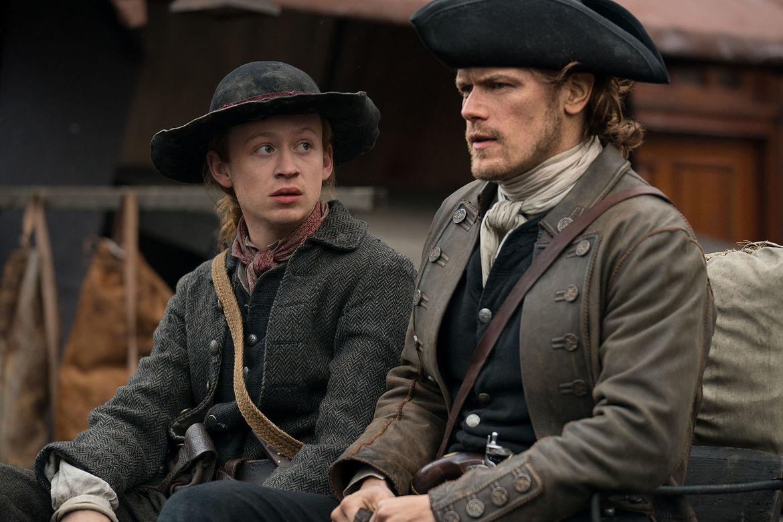 Outlander 401, Jamie and Ian