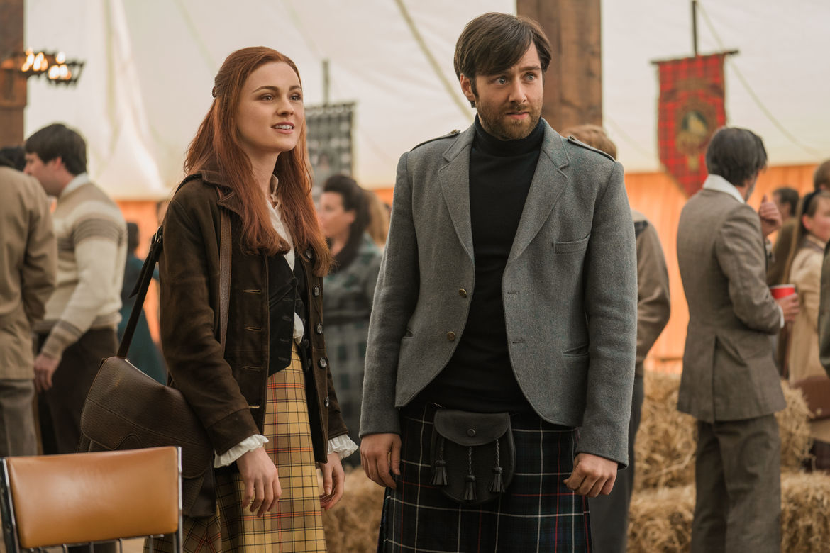 Outlander 403, Roger and Brianna