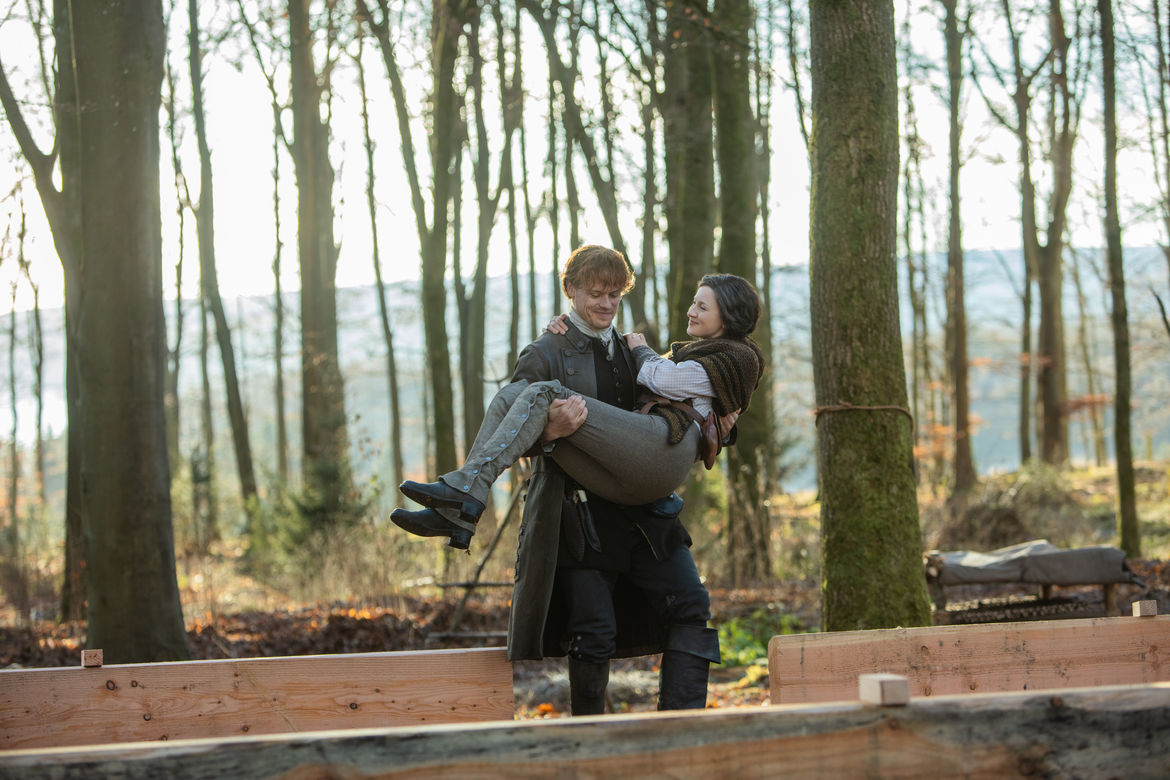 Outlander 404, Jamie and Claire 2