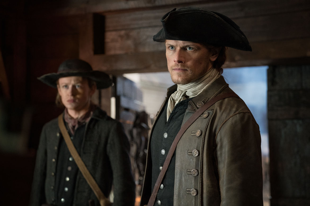 Outlander 405, Jamie and Ian