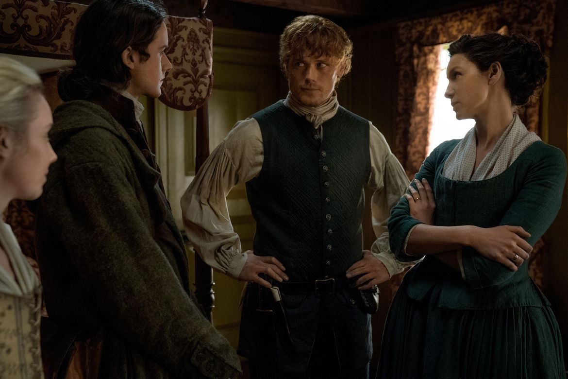 Outlander 408, Jamie and Claire 2