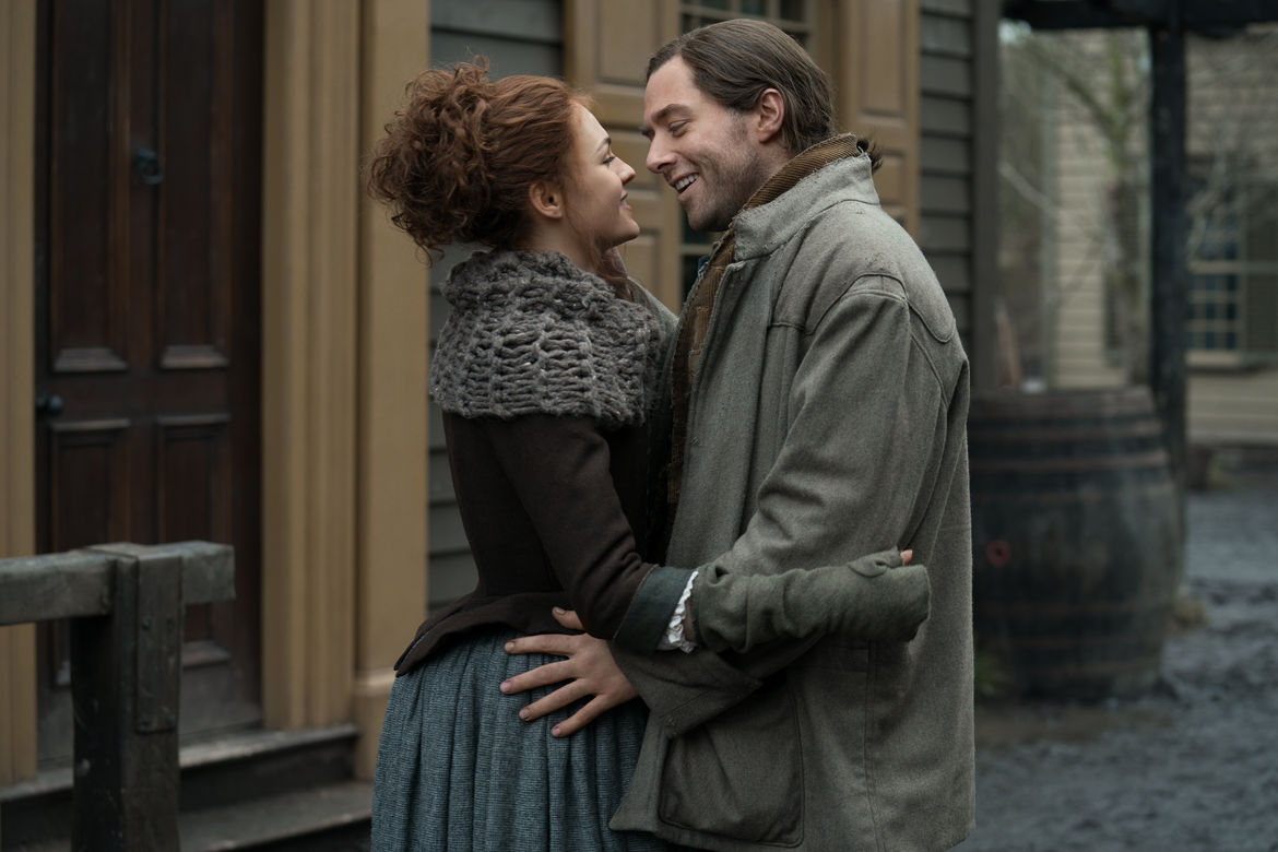 Outlander 408, Roger and Brianna