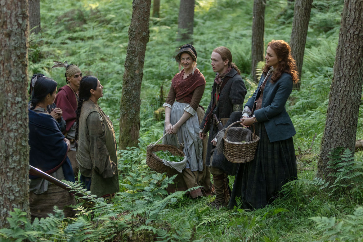 Outlander 410, Ian and Brianna