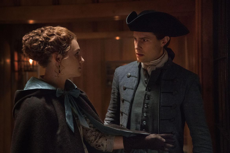 Outlander 412, Brianna and Lord John