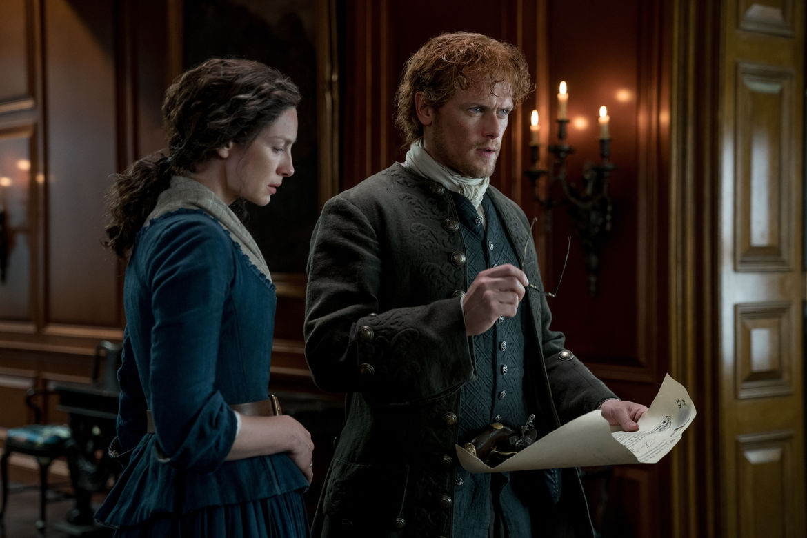 Outlander 413, Jamie and Claire