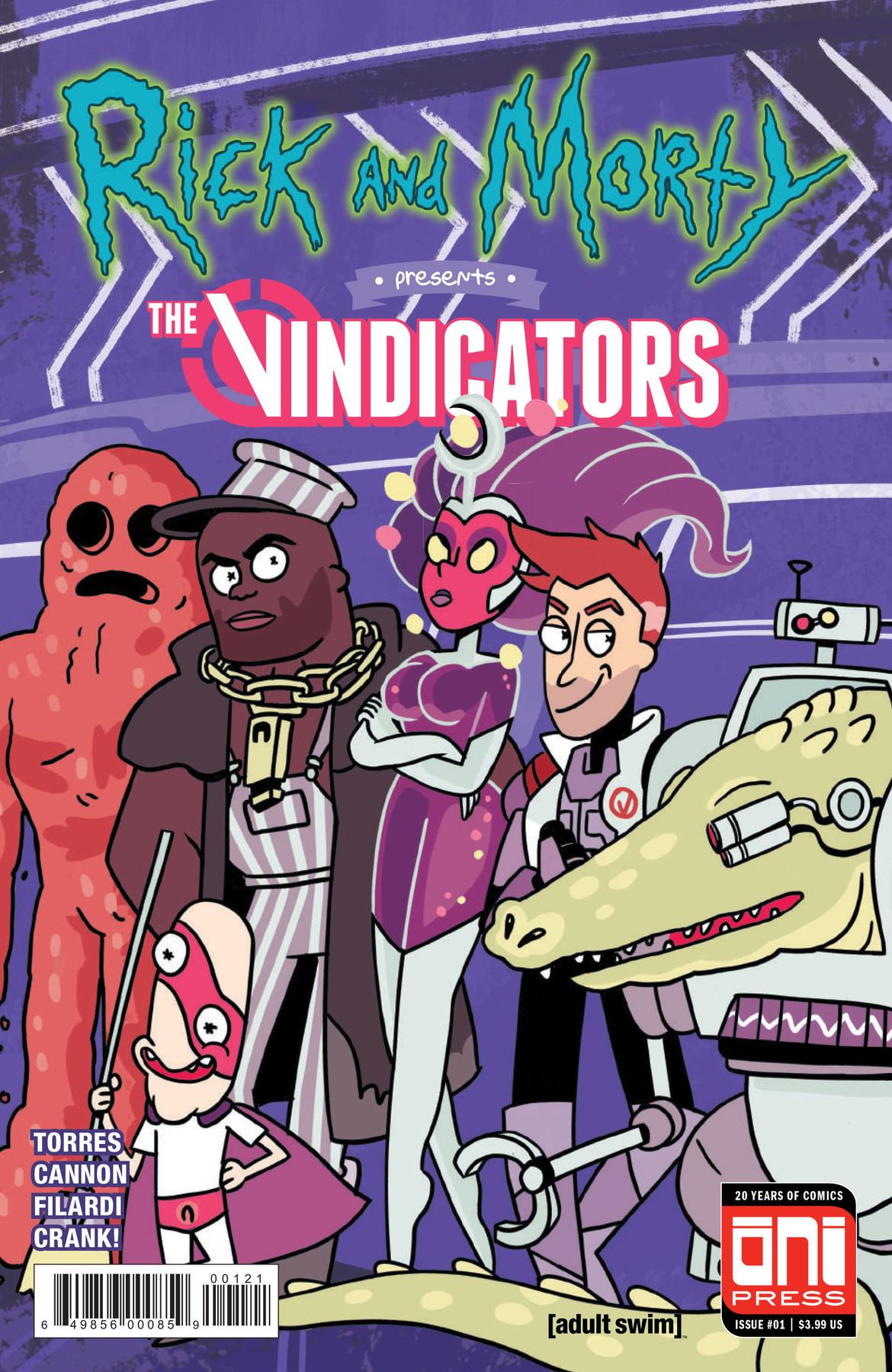 Rick and Morty Presents the Vindicators- Cover Variant