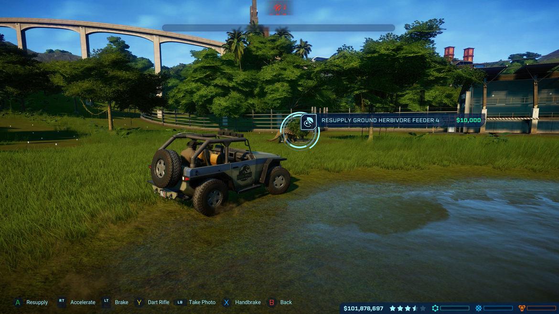Jurassic World Evolution - Jeep