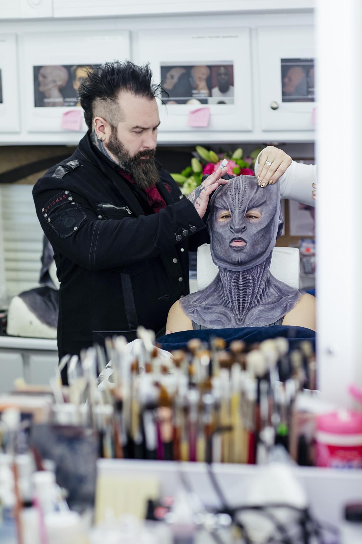 Star Trek makeup