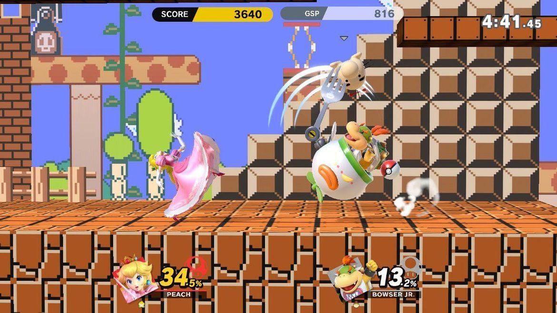 Super Smash Bros. Ultimate - Peach and Bowser Jr.