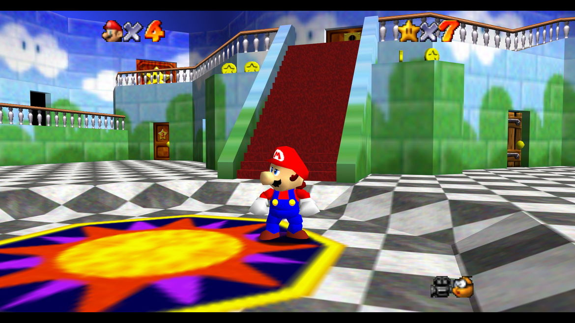Super Mario 64 S Best World Is Actually Peach S Castle