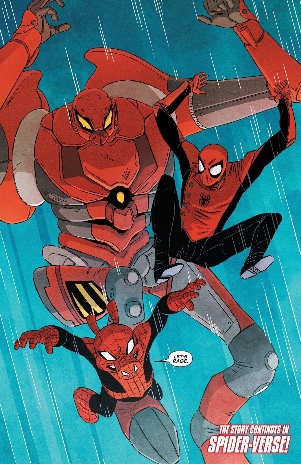 Edge of Spider-Verse #5 (Writer Gerard Way, Artist Jake Wyatt)