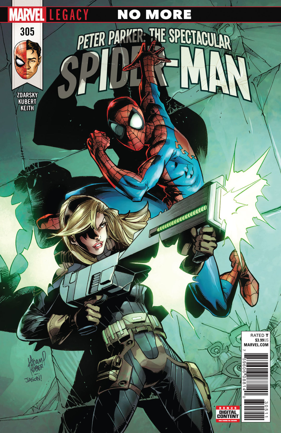 Peter Parker Spectacular Spider-Man 305 cover