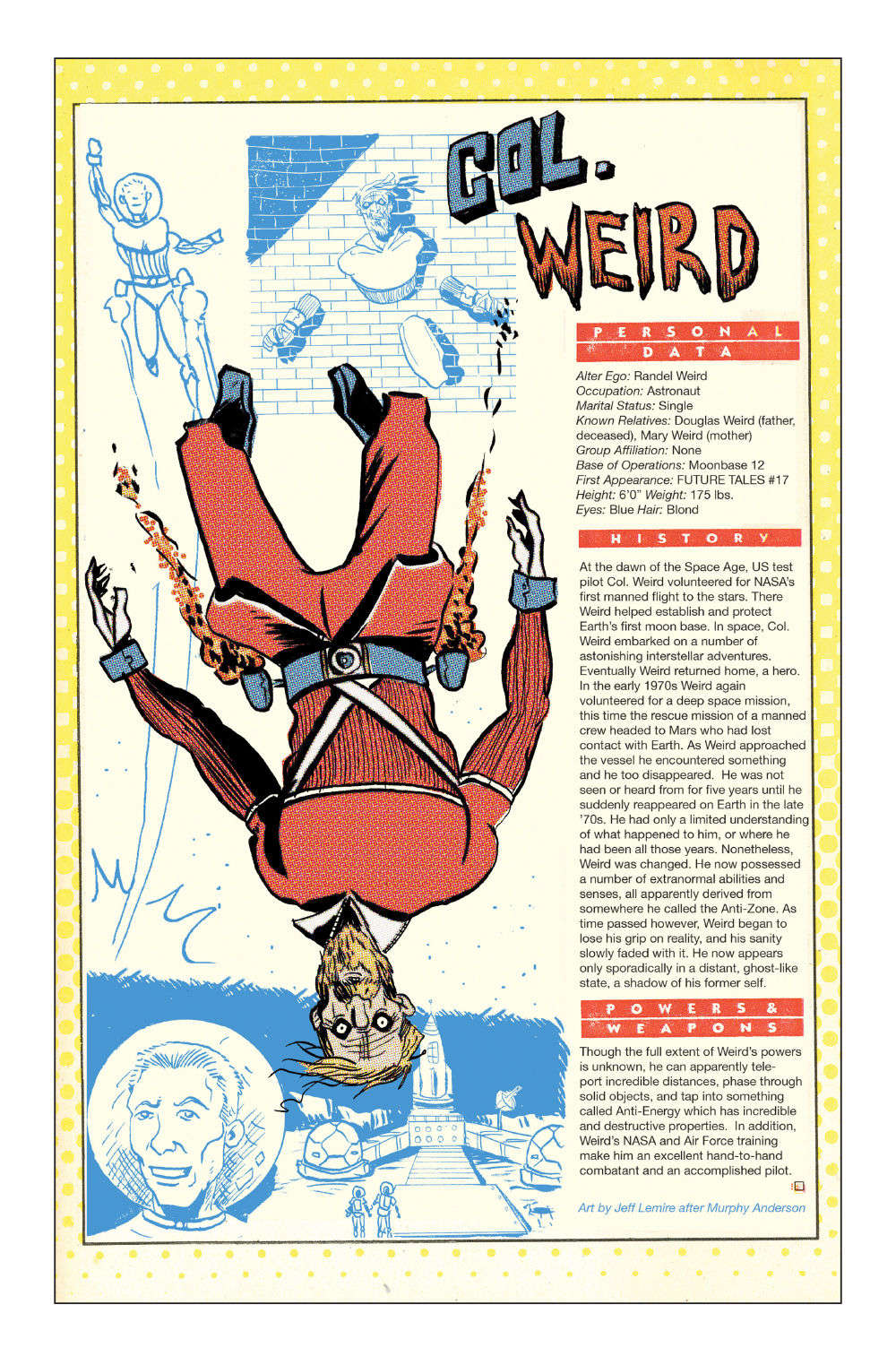 BH Library Page 371 Colonel Weird