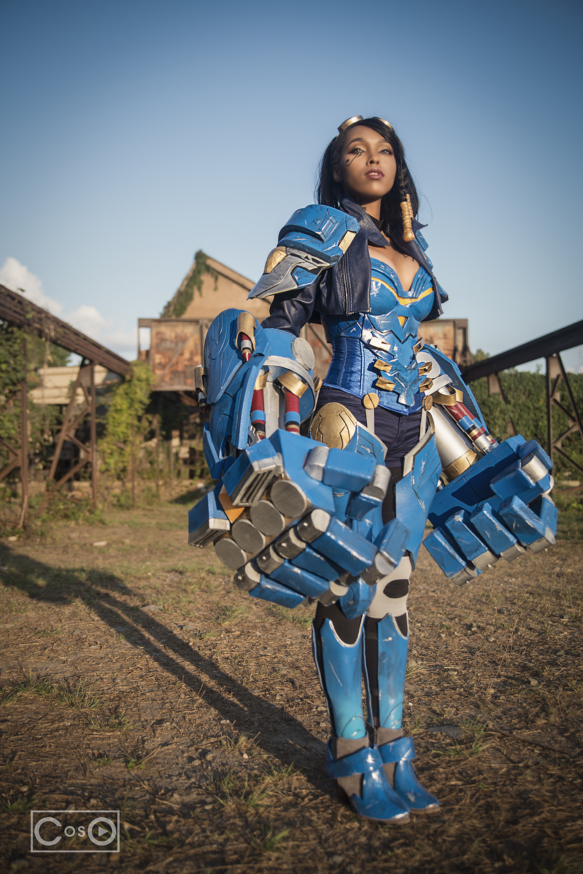 PharahVi Jasmine Mackey cosplay
