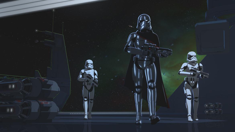 Phasma Ep 11 Star Wars Resistance