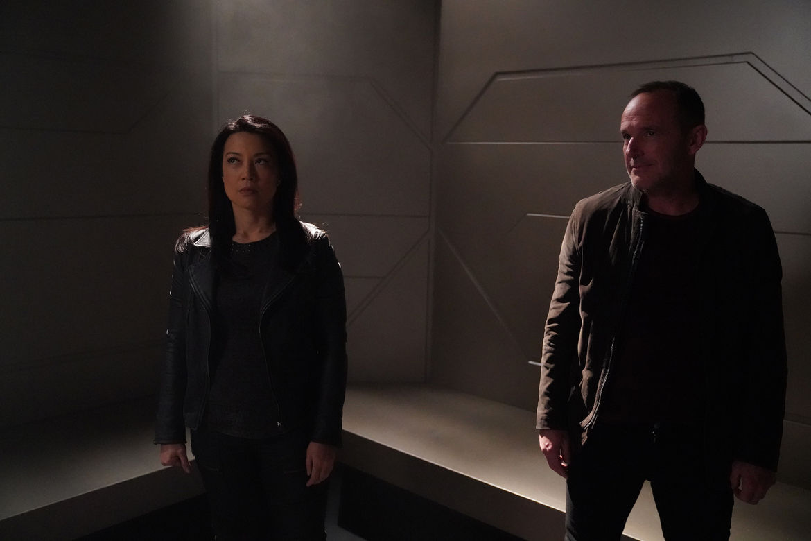 may and Coulson agents of shield
