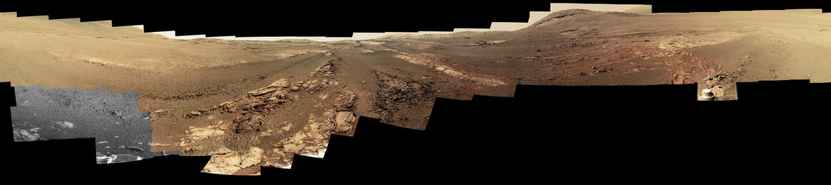 Mars Opportunity rover image