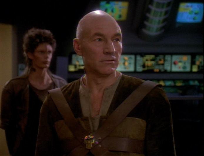 Picard as galen gambit tng star trek