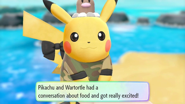 Pokemon: Let's Go: Pikachu Diglett Hat