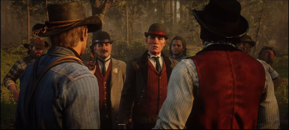 Pinkertons from Red Dead Redemption 2
