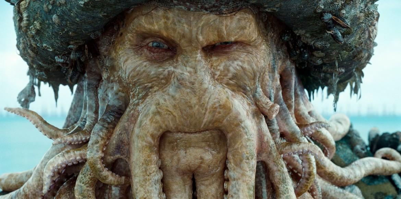 Davy Jones, Pirates of the Caribbean