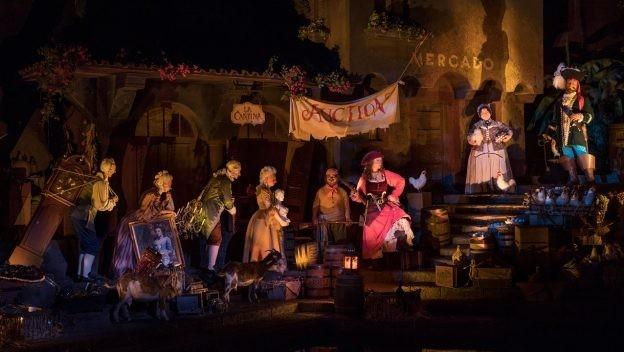 Pirates of the Caribbean update, Disney World 2018