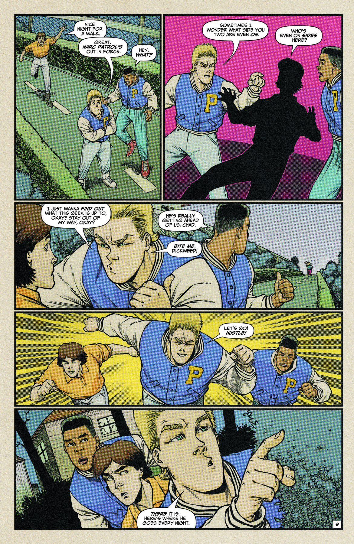 Planet of the Nerds #1 Page 1 Preview