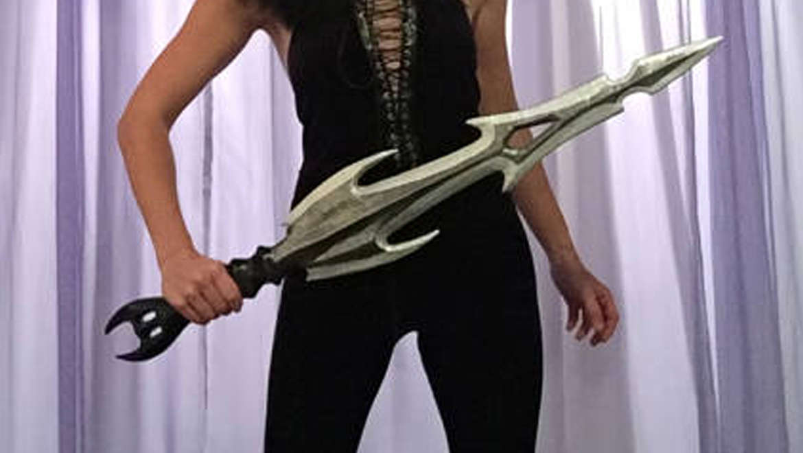 Hela's sword from Thor: Ragnarok by The Potions Mistress