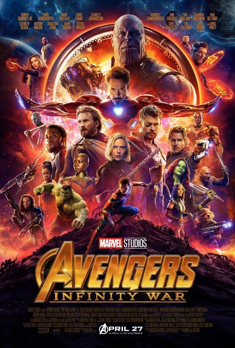 Infinity War full poster