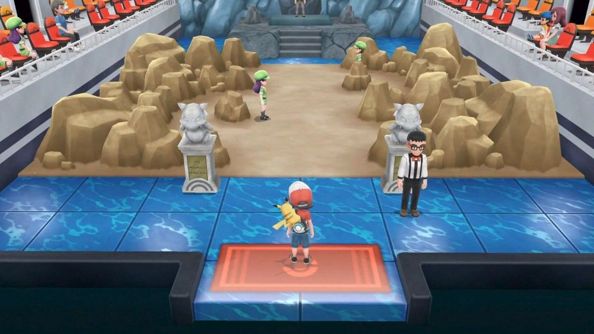 Pokemon - Let's Go Pikachu - Gym