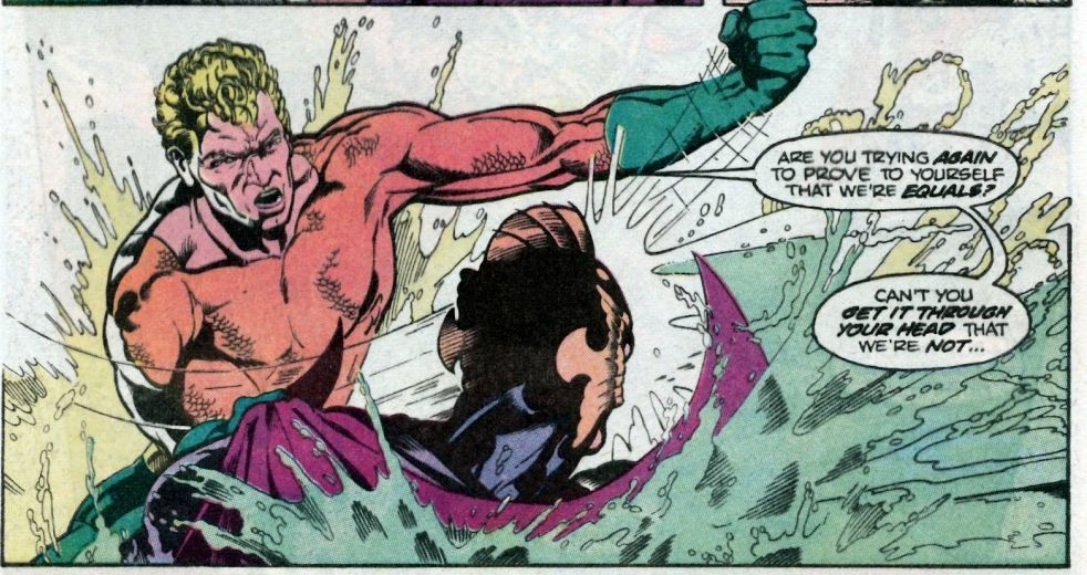 Aquaman got a reboot in 1986 with a new series by Neal Pozner and Craig Hamilton.
