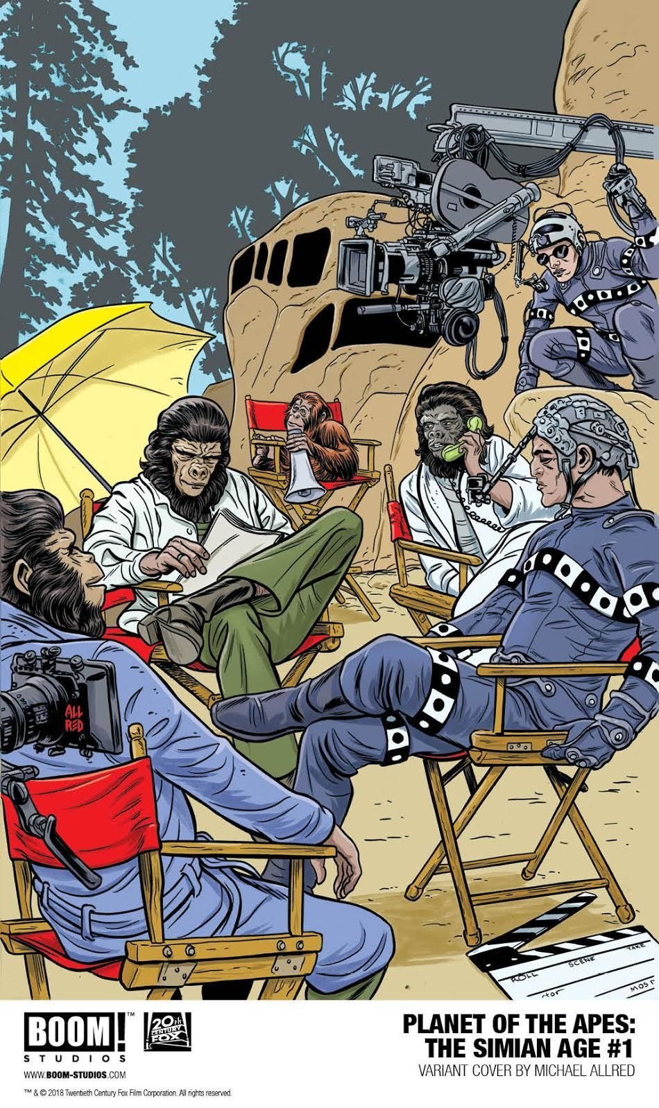 Exclusive Boom Goes Bananas With Two New Planet Of The Apes