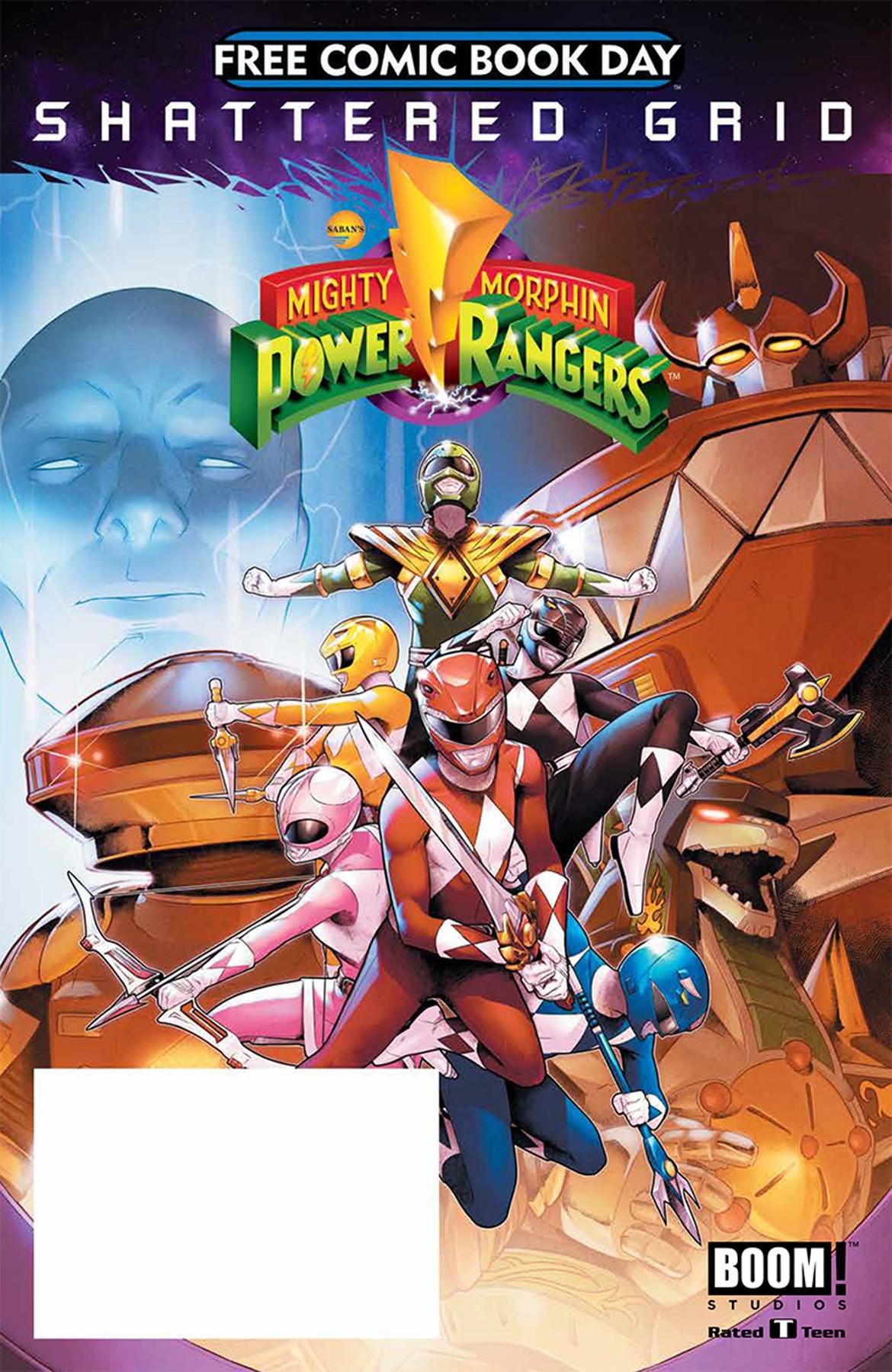 Power Rangers FCBD 2018