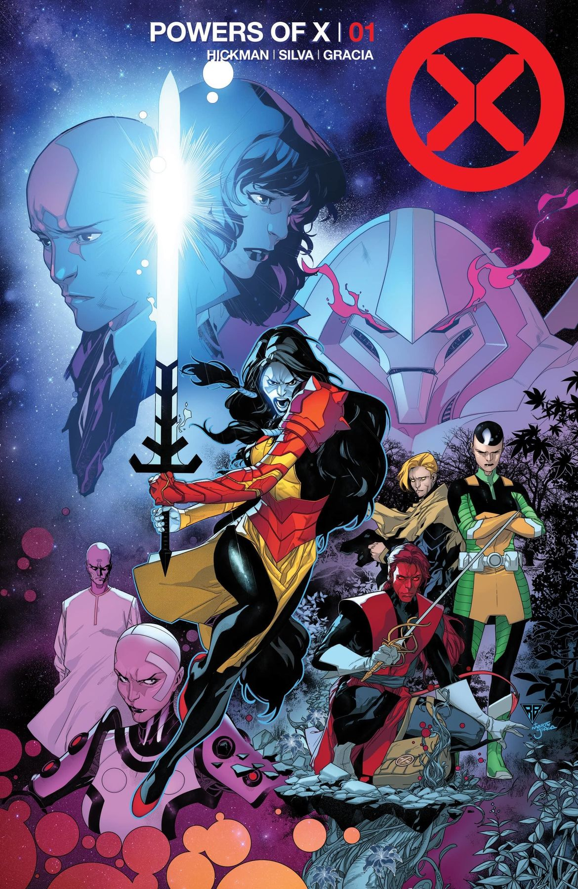 POWERS OF X cover 1