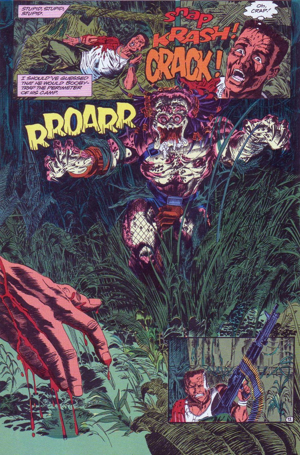 Predator Comic Book