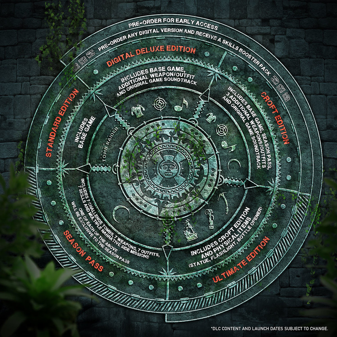 Shadow of the Tomb Raider - Preorder Wheel