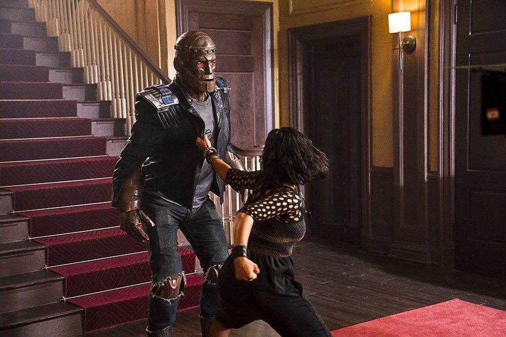 Robotman and Crazy Jane in Doom Patrol
