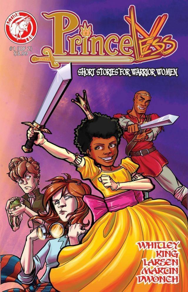 Princeless Cover