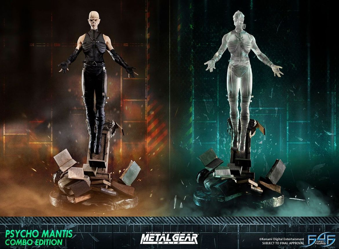 first 4 figures metal gear solid psycho mantis