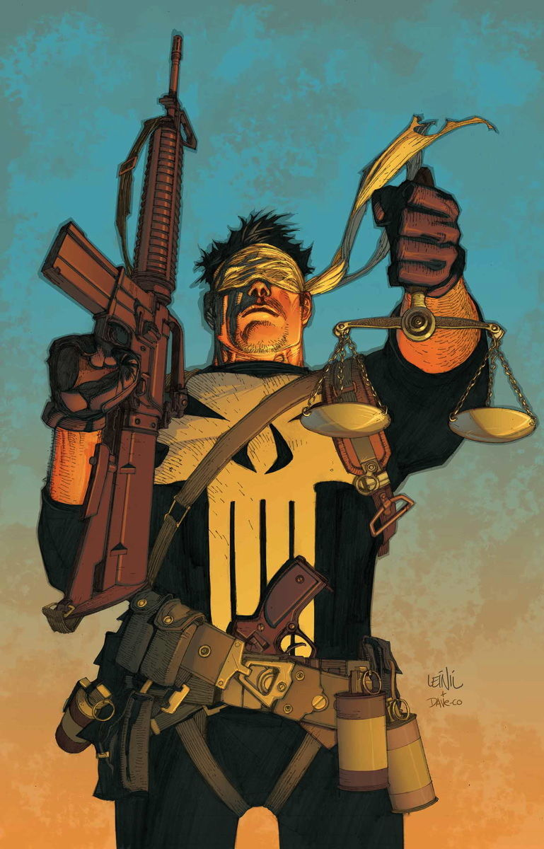 Trial of the Punisher (Art by Leinil Yu)
